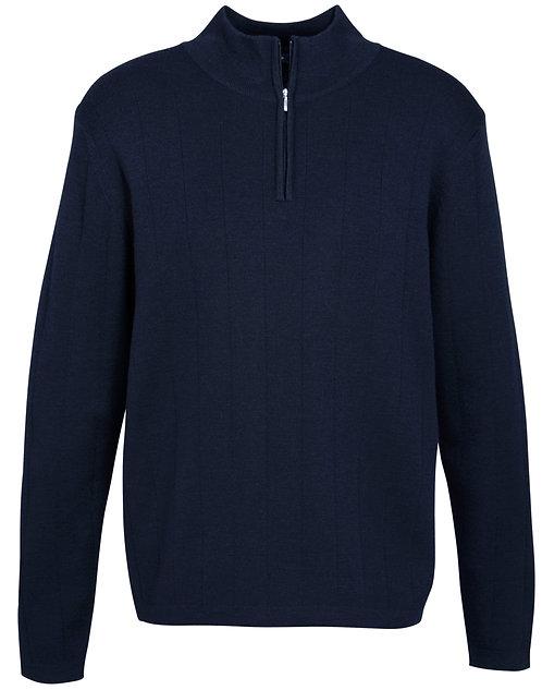 Mens 80/20 Merino Wool Rich Pullover - Navy