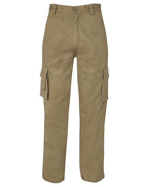JB's Mercerised Multi Pocket Pant - Khaki