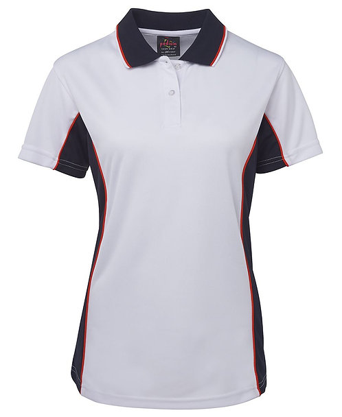 Womens Contrast Polo - Multiple Colours Available