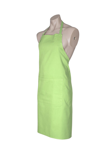 Apron with Pocket - Lime