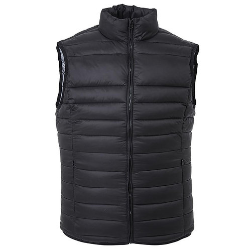 The Weather Shield Puffer Vest - Black