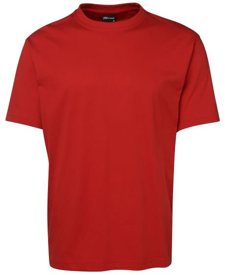 Mens 100% Cotton Tee MOQ 10 - Red