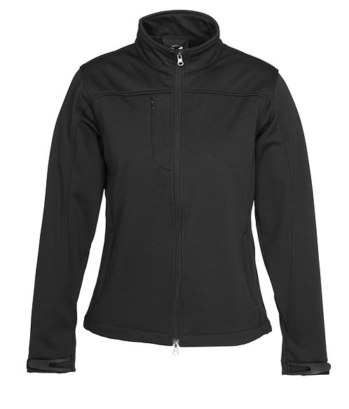 Mens Tech Soft Shell Jacket - Black