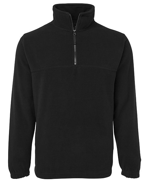 1/2 Zip Polar Black