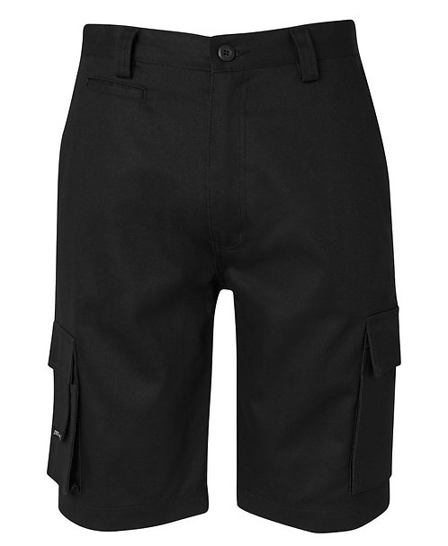 JB's Mercerised Multi Pocket Short - Black