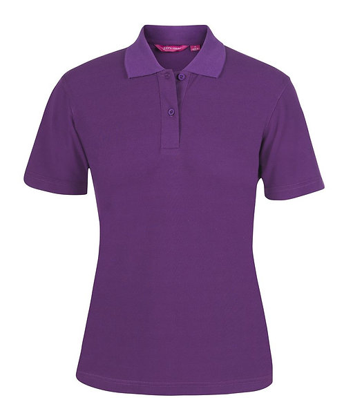 Ladies Basic Pique SS Polo - Mulberry