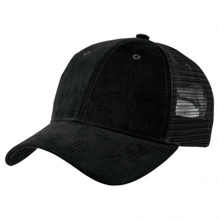 Premium Soft Mesh Cap - Black Pack of 10