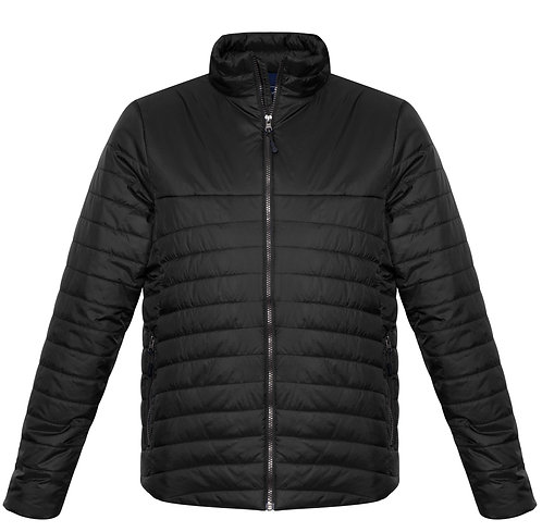 Mens Expedition Quilted Jacket Black