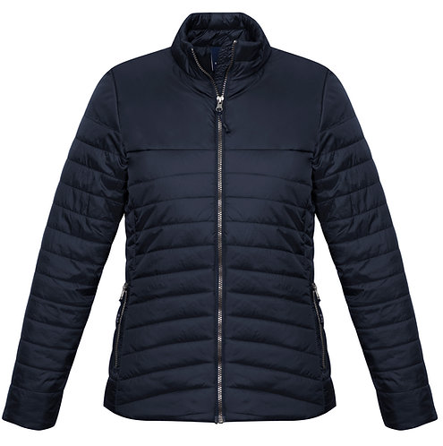 Ladies Expedition Quilted Jacket Navy