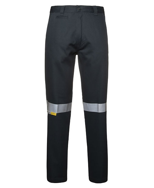 JB's Mercerised Work Trouser with 3M Tape - Green