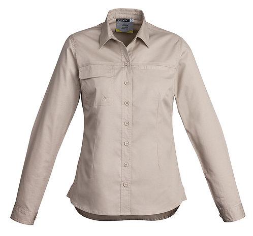Womens Lightweight Work Shirt - Long Sleeve