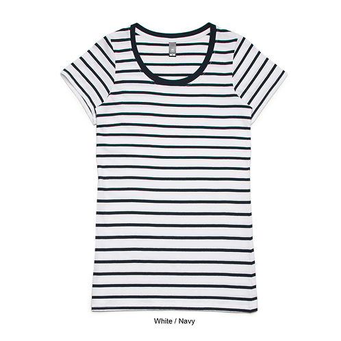 AS Colour Womens Wire Stripe Tee - Available from