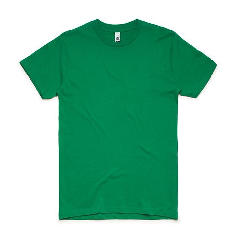 AS Colour Block Tee Kelly Green - From