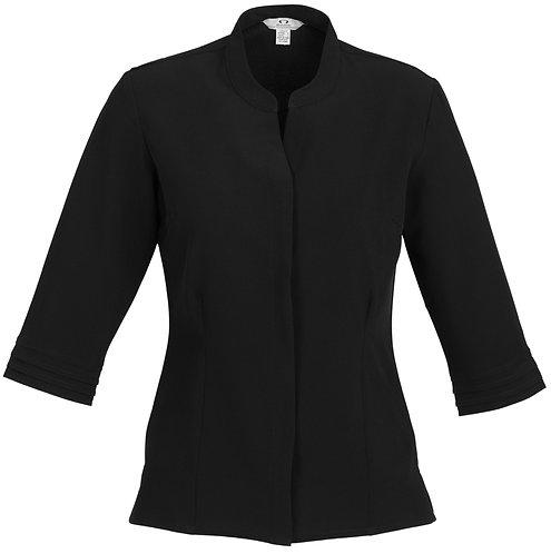 Womens L/S Hospitality Shirt - Black