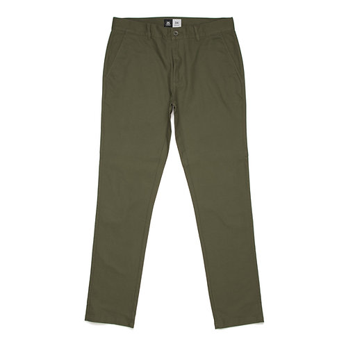 AS Colour Slim Chino Pant Army - Available from