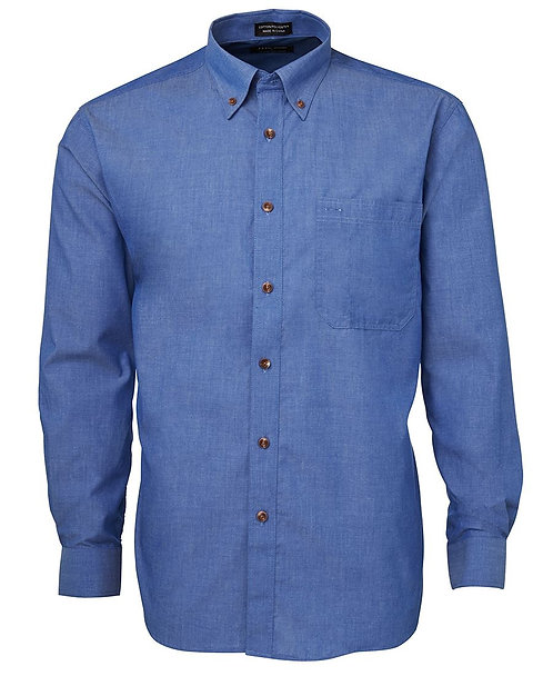 L/S Indigo Chambray Shirt