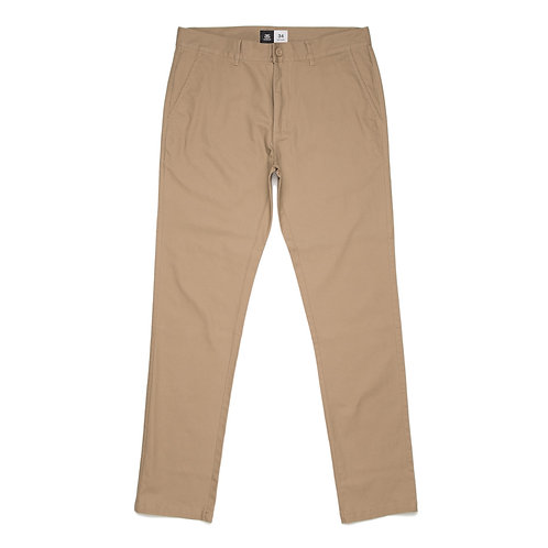 AS Colour Slim Chino Pant Khaki - Available from