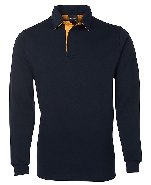 2 Tone Rugby - Navy/Gold