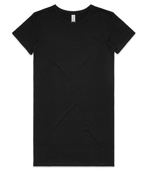 AS Colour Womens Mika Organic S/S Dress - Black