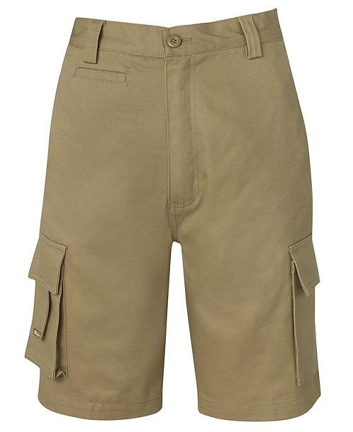 JB's Mercerised Multi Pocket Short - Khaki