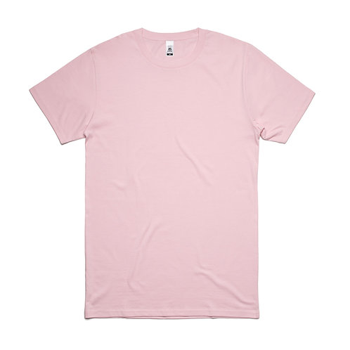AS Colour Block Tee Pink - From