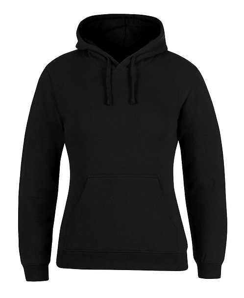 JB's Ladies Fleecy Hoodie - Black
