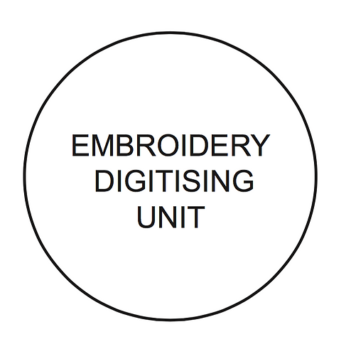 Embroidery Digitising Unit