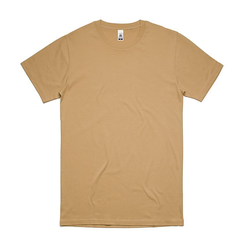 AS Colour Block Tee Tan - From