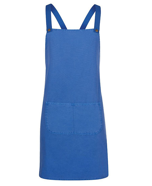 Royal Canvas Cross Back Apron with Changeable Straps