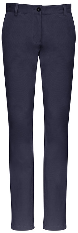 Womens Contemporary Chino - Navy