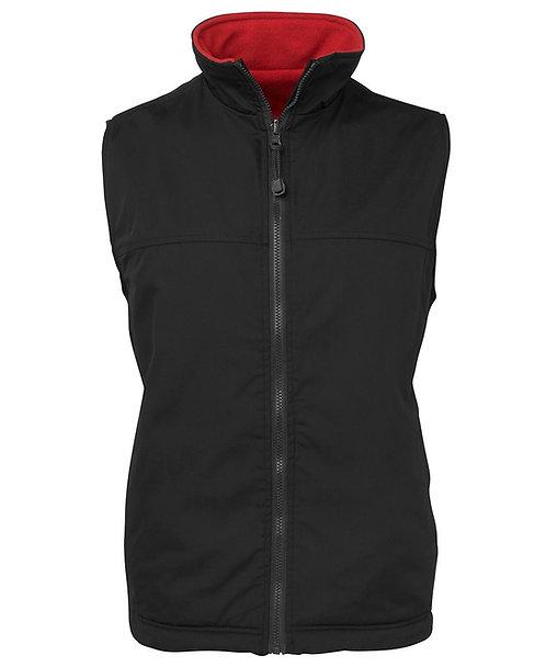 Reversible Vest - Black/Red