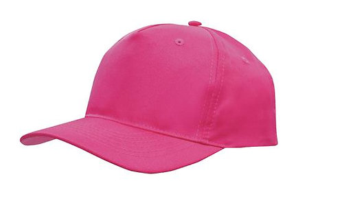 Breathable Poly Twill Cap Multiple Colours- MOQ 10