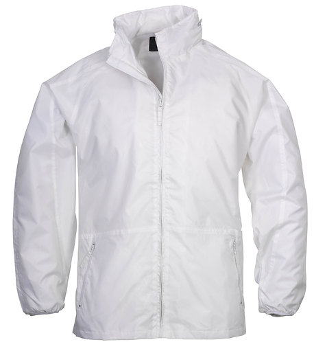 Spinnaker Unisex Jacket White