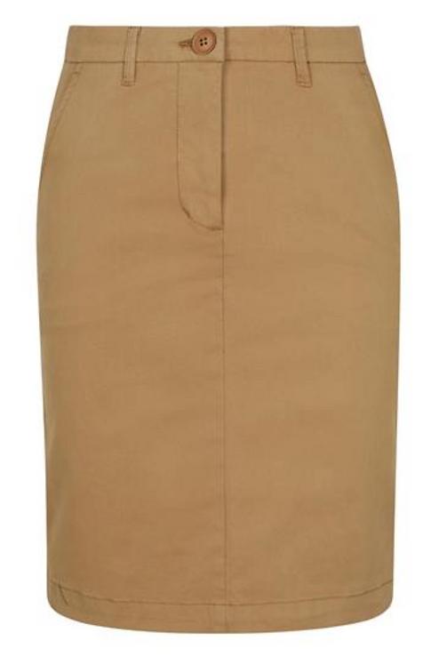 Premium Chino Shirt - Khaki