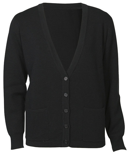 Womens 50/50 Woolmix Cardigan - Black
