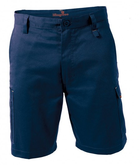 King Gee Workcool 1 Shorts - Navy