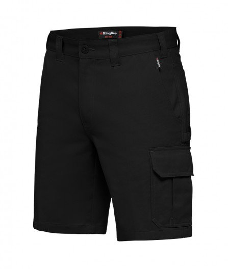 King Gee New G's Worker Short - Black
