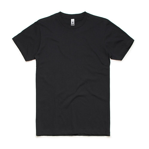 AS Colour Block Tee Black - From