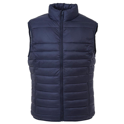 The Weather Shield Puffer Vest - Navy
