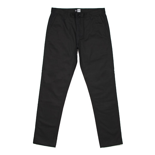 AS Colour Standard Chino Work  Black Pant - Available from