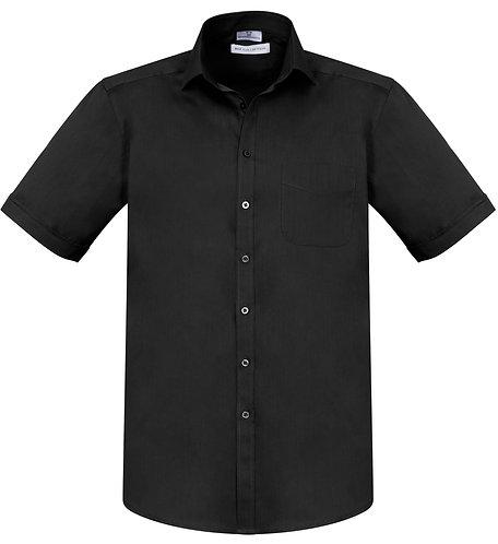 Mens Monaco SS Shirt - Black