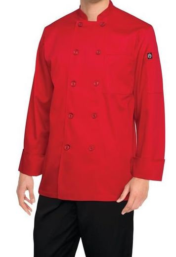 Red Chef Jacket - MOQ