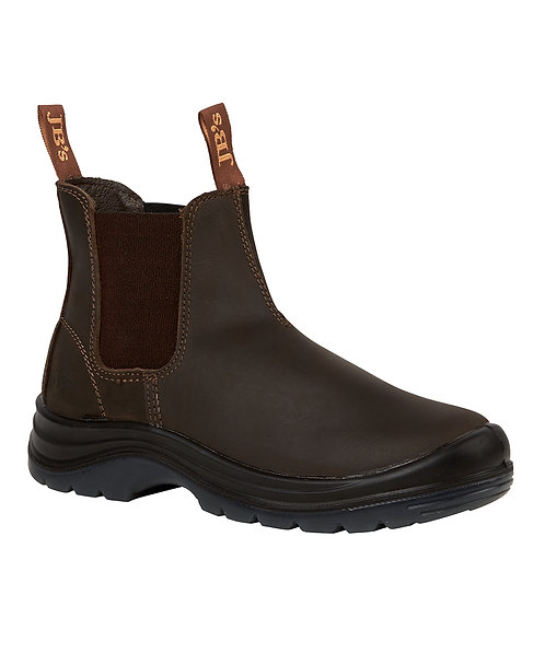 JB's Elastic Sided Safety Boot - Claret