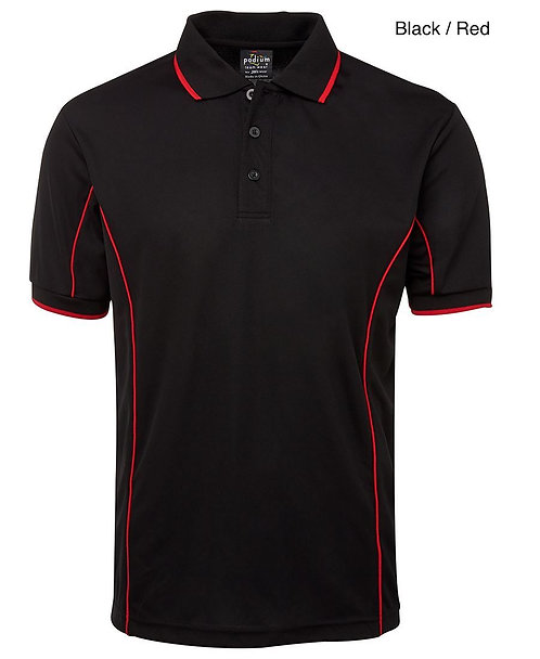 Mens S/S Piping Polo - Multiple Colours Available