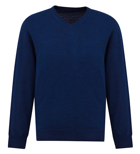 Mens Roma Sweater - French Blue
