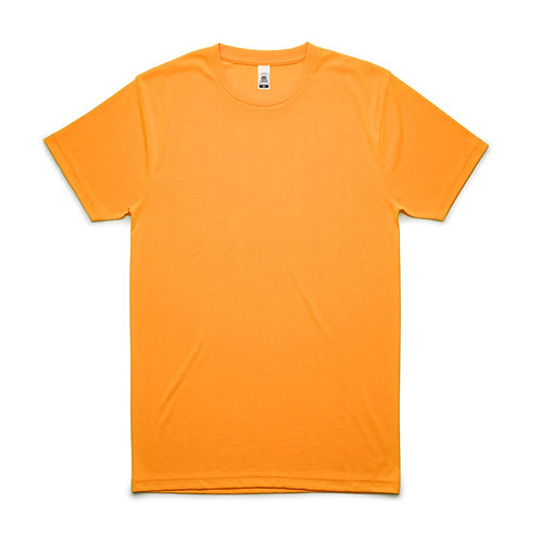 AS Colour Block Tee Safety Orange - From
