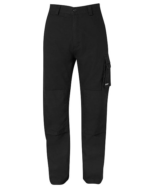 JB's Canvas Cargo Pant - Black