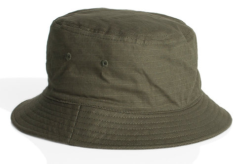 AS Colour Bucket Hat  Army - MOQ 5