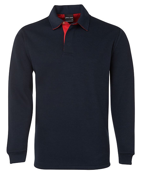 2 Tone Rugby - Navy/Red