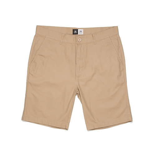 AS Colour Chino Short Khaki -Available from